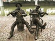 Shamian Island Guangzhou Statues
