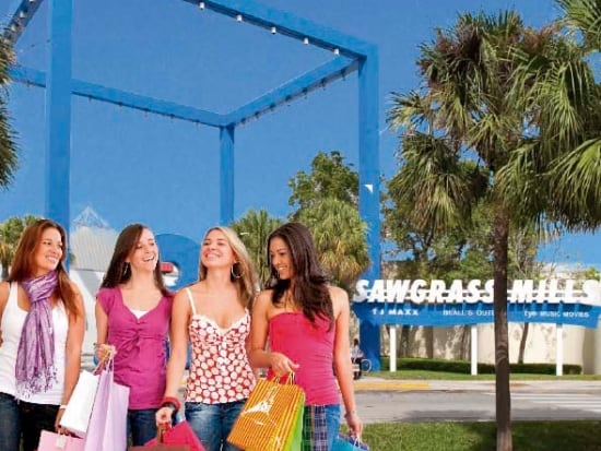 96ba6cfe Hop on a bus to Miami's Sawgrass Mills outlet mall. Enjoy shopping at more  than 350 stores in the largest outlet destination in the US.