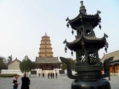 Xian_Big Wild Goose Pagoda (4)
