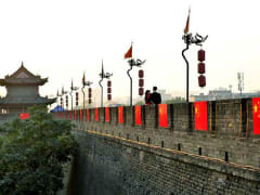 Xian_Ancient City Wall in Xi'an