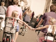 Paris, Bike, Biking, Children