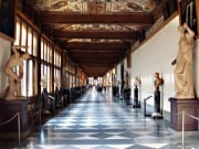 Vasari Corridor of Uffizi Gallery