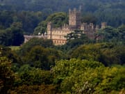 UK_London_Highclere Castle Aerial View
