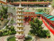thousand buddha pagoda kek lok si temple penang