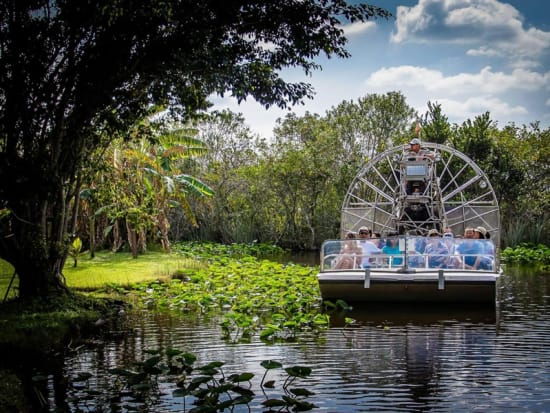 Everglades Airboat Ride And Biscayne Boat Tour From Miami Miami