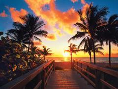USA_Florida_Fort Lauderdale Beach Sunset
