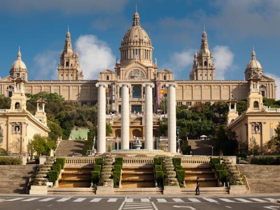 Architecture of Museu Nacional d'Art de Catalunya