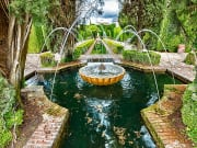Fountain in the Palacio de Generalife