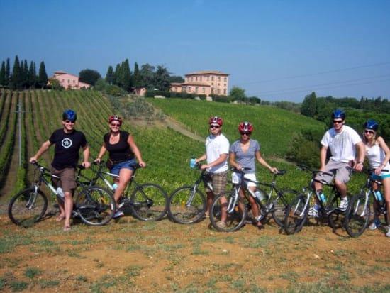 Tuscan countryside hills