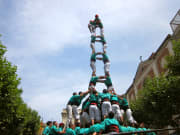 Spain_Catalan_Human Tower Castells
