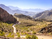 Road to Hajar mountains_441798388