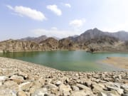 lake in Hajar Mountains_420228442