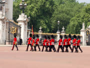 Guards marching