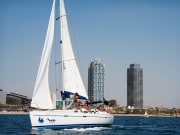 Barcelona, Olympic Harbor, cruise, sailing, tour
