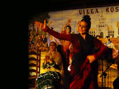 Flamenco Show, Tablao Villa Rosa