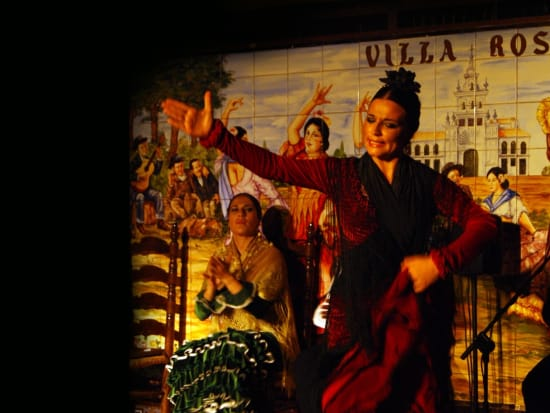 Flamenco Show with Drink at Tablao Villa Rosa  (3)