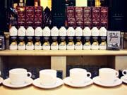 Market, madrid, spain, coffee, tasting