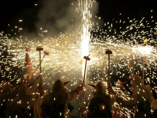 Correfoc Fire Running Festival Small Group Tour from Barcelona (4)