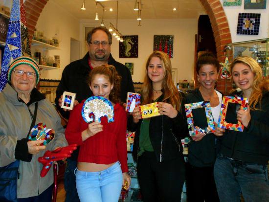 Gaudi Mosaics Workshop in Barcelona (4)