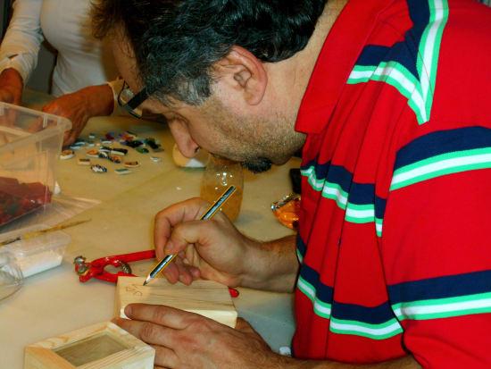 Gaudi Mosaics Workshop in Barcelona (7)