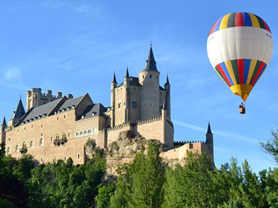 Hot Air Balloon Ride Over Segovia, Spain