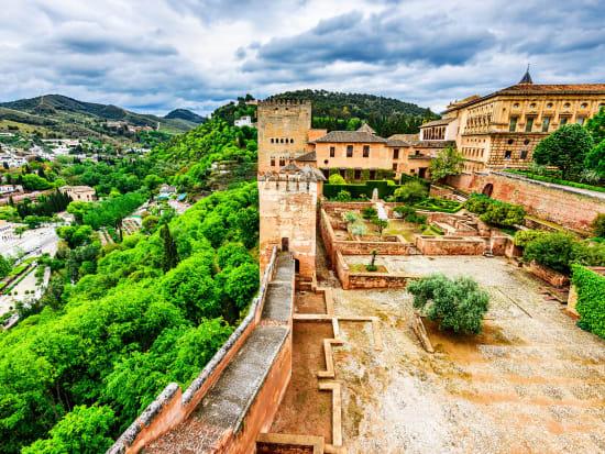 Super Saver] Alhambra & Nasrid Palaces Tour with Albayzin
