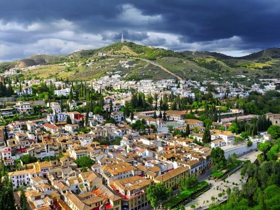 Albayzin, Alhambra, Granada, Spain