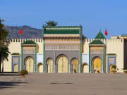 The Royal Palace in Fez, Morocco