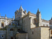The Romanesque-Gothic Se (Cathedral) of Evora, Portugal