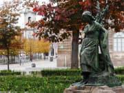 Portugal, Porto, statue, woman