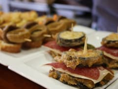Spain, Basque, San Sebastian, Pintxo