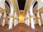 interior of Santa María la Blanca Synagogue_shutterstock_281036147