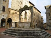 San Gimignano Old Town Plaza