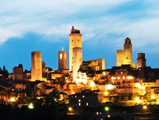 Italian Florence: Siena & San Gimignano Evening Tour From Florence With