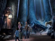 Step into the Forbidden Forest at Warner Bros. Studio Tour London