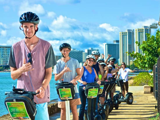Hawaii_Oahu_Segway of Hawaii_Group TOur
