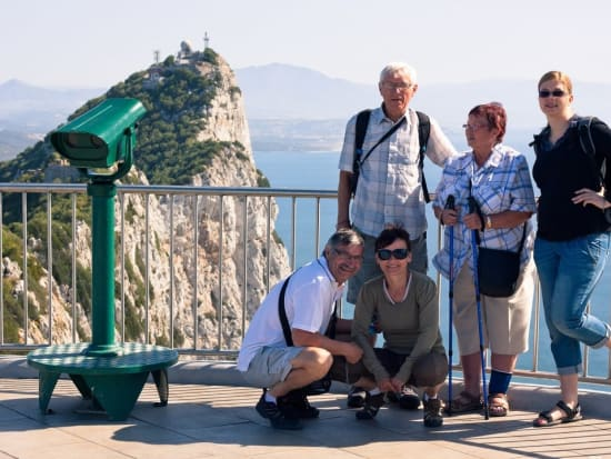 gibraltar, rock, tourists