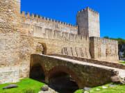 portugal, lisbon, sao jorge castle