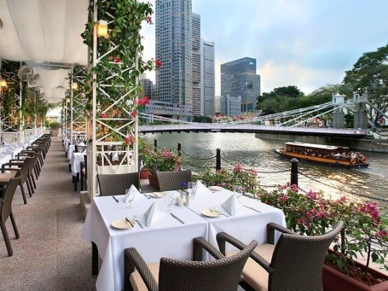 The Fullerton Hotel Singapore Buffet Lunch Or Dinner At Town Restaurant