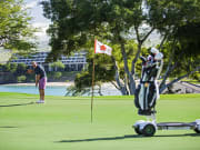 Golfboard at #11 putting