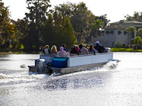 USA_Orlando_Lake Eola_City Boat Cruise