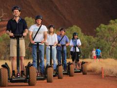 Uluru by Segway