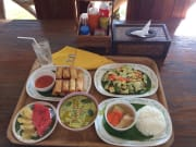 Flight of The Gibbon Khao Khoew - Meal