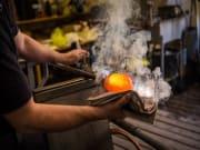 Artistic handmade glass in Murano