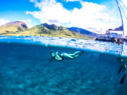 Snorkeling West Maui Background