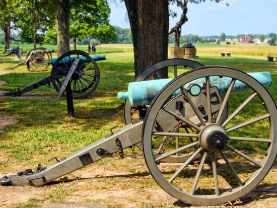 USA_Pennsylvania_Gray Line_Gettysburg Canon