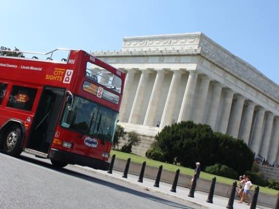 Washington Dc Tour Bus >> Washington D C 48 Hour Hop On Hop Off Bus Tour With Activity Combo