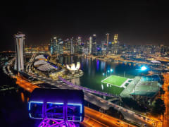 Singapore Evening View