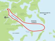 USA_Boston_Harbor Cruises_Historic Cruise Map
