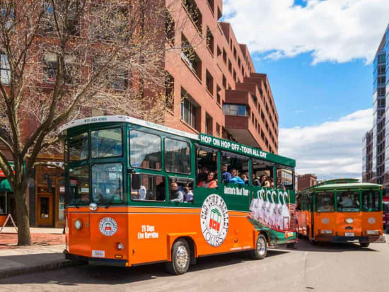 ※Top候補 Boston_Historic Tours_Old Town Trolley